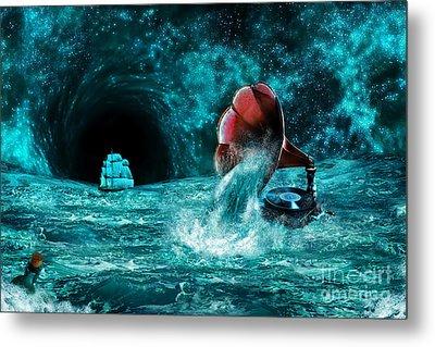 Metal Print featuring the digital art The Eternal Ballad Of The Sea by Olga Hamilton