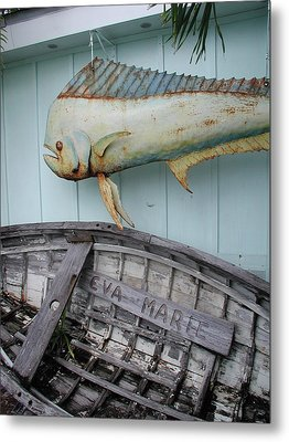 Metal Print featuring the photograph The Eva Marie by Nancy Taylor