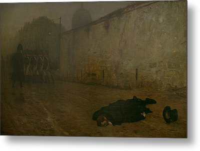 The Execution Of Marshal Ney Metal Print by Jean Leon Gerome