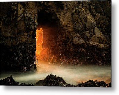 The Exit Metal Print by Edgars Erglis