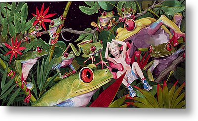The Expedition Metal Print by Denny Bond