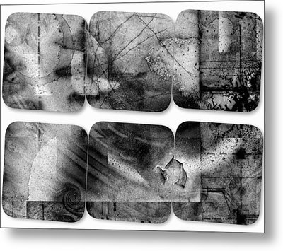 The Explained Square Metal Print by Contemporary Art