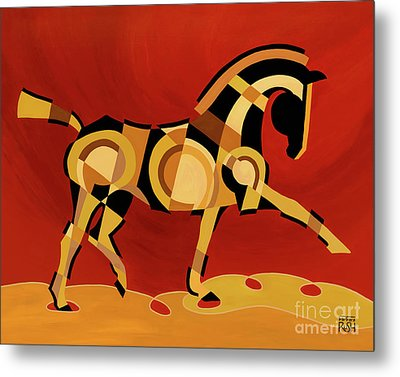 The Extension Of Equus Metal Print