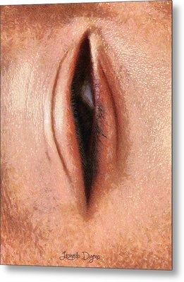 The Eye Metal Print by Leonardo Digenio