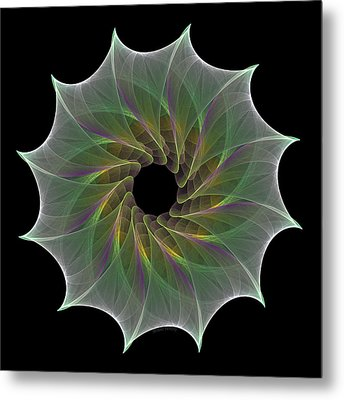 Metal Print featuring the digital art The Eye Of God by Denise Beverly