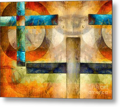 The Eye Of Horus  Metal Print by Edward Fielding