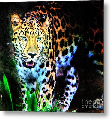 The Eyes Metal Print