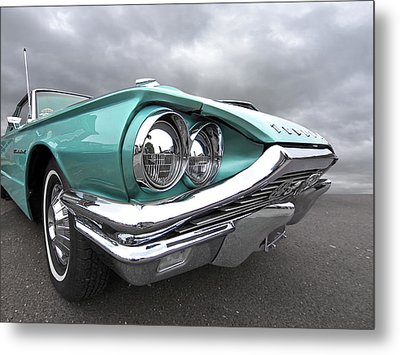 Metal Print featuring the photograph The Eyes Have It - 1964 Thunderbird by Gill Billington