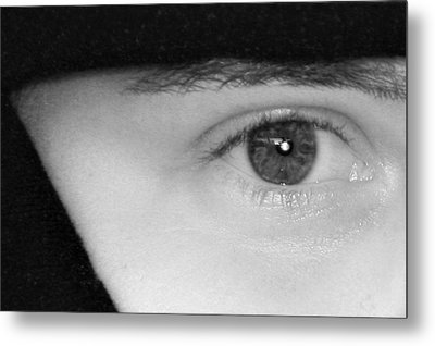 The Eyes Have It Metal Print by Christine Till