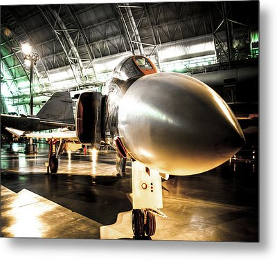 The F4 Phantom Metal Print