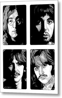The Fab Four Metal Print by Cory Still
