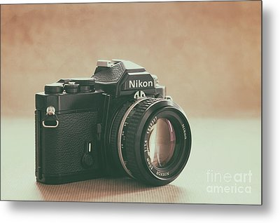 Metal Print featuring the photograph The Fabulous Nikon by Ana V Ramirez