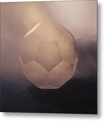 The Facet Metal Print by Lonnie Christopher