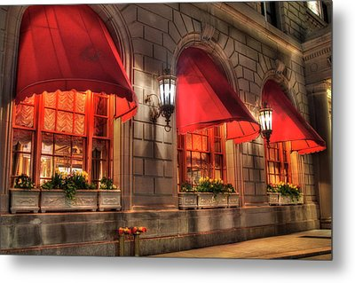 Metal Print featuring the photograph The Fairmont Copley Plaza Hotel - Boston by Joann Vitali