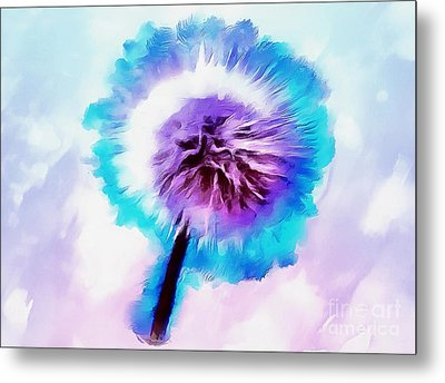 The Fairy Of Wishes Metal Print by Krissy Katsimbras