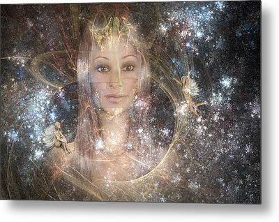 The Fairy Queen Metal Print by Carol and Mike Werner