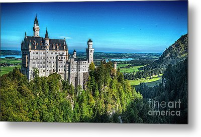 The Fairy Tale Castle Metal Print by Pravine Chester