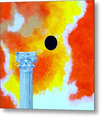 The Fall Of Rome Metal Print by Thomas Gronowski