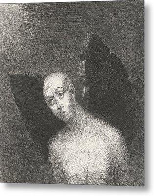 The Fallen Angel Metal Print by Odilon Redon