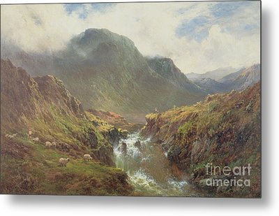 The Falls Of Foyers Metal Print