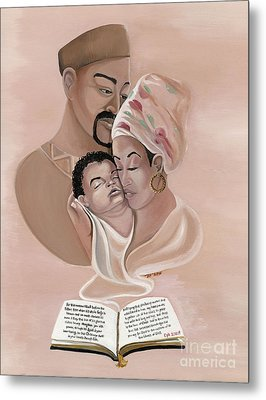 The Family Metal Print by Toni  Thorne