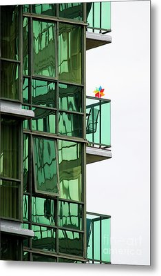 Metal Print featuring the photograph The Windmill by Chris Dutton