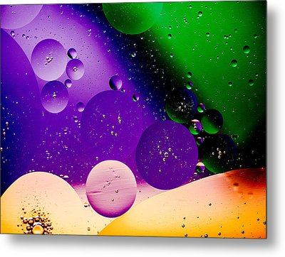 The Far Side Moons Metal Print by Bruce Pritchett