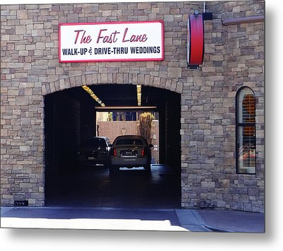 The Fast Lane 2 Metal Print by Bruce Iorio