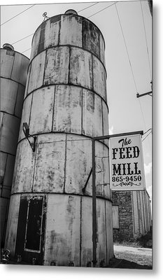 The Feed Mill Metal Print by Craig David Morrison