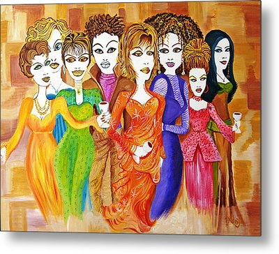 The Female Factor Metal Print