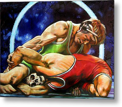 The Final Fight Metal Print by John Lautermilch