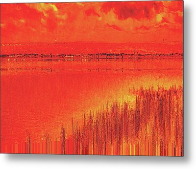 Metal Print featuring the digital art The Final Paragraph by Wendy J St Christopher