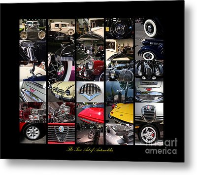 The Fine Art Of Automobiles Metal Print by Wingsdomain Art and Photography