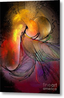 The Firedevil Metal Print