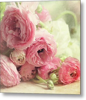 Metal Print featuring the photograph The First Bouquet by Sylvia Cook