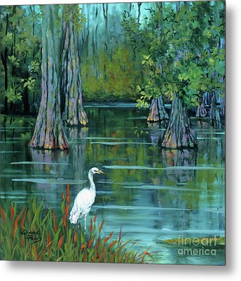 The Fisherman Metal Print by Dianne Parks