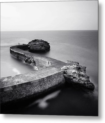 The Fisherman Metal Print by Nina Papiorek