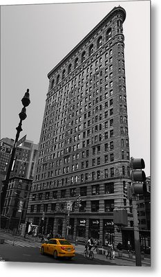 The Flatiron Building In New York City Metal Print