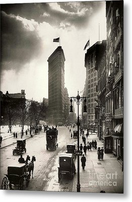 The Flatiron Building Metal Print by Jon Neidert