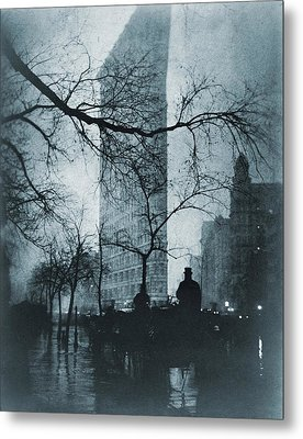 The Flatiron Building, New York City Metal Print by Everett