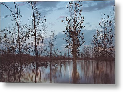 The Flood Metal Print