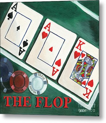 The Flop Metal Print by Debbie DeWitt
