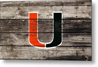 The Miami Hurricanes       Metal Print