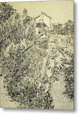 The Flower Garden, 1888 Metal Print