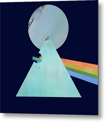 The Floyd's Dark Side Metal Print