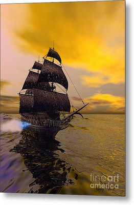 The Flying Dutchman Metal Print by Corey Ford
