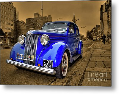 The Ford Pilot Metal Print by Rob Hawkins