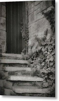 The Forgotten Door Metal Print