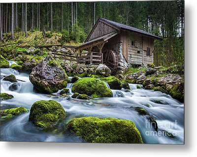 The Forgotten Mill Metal Print by JR Photography