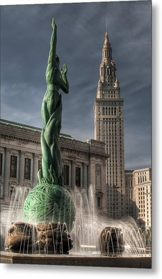The Fountain Of Eternal Life Metal Print by At Lands End Photography